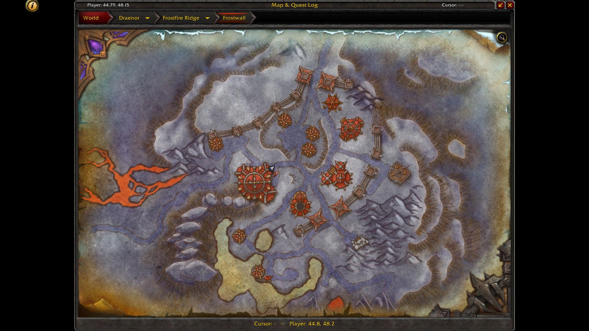 Garnison Map